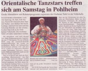 Gießener Anzeiger 2012